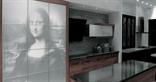 Modern Mona Lisa design kitchen