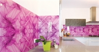 Pink Wall Cladding