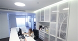 Printed Perspex in an office